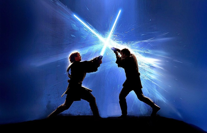star wars fighting